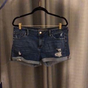 Joe's Jeans denim distressed shorts - Size 31